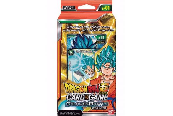 Dragon Ball Super Card Game - Pack Spécial SP01 Galactic Battle